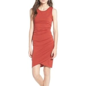 Leith || Ruched Body-Con Tank Dress